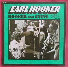 EARL HOOKER LP ORIG FR  HOOKER AND STEVE   ARHOOLIE