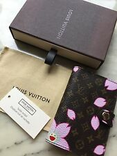 LOUIS VUITTON LV MURAKAMI  MONOGRAM CHERRY BLOSSOM AGENDA NOTEBOOK COVER