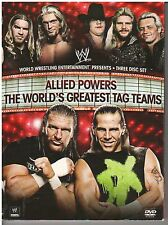 Allied Powers: The World's Greatest Tag Teams (3 DVD set, 2009) {2240}