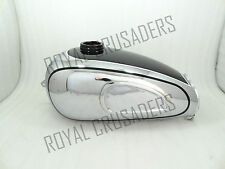 NEW HOREX REGINA BLACK PAINTED CHROMED PETROL TANK (REPRODUCTION) (CODE616)