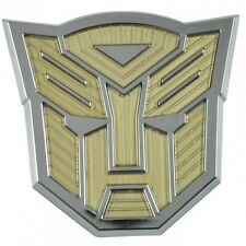 Car Chrome Acrylic Emblem Badge Transformers Autobot 3D Logo