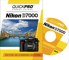 QUICKPro Training DVD Nikon D7000 - NEW  Free US Shipping