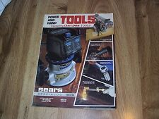 Sears Specialog Power And Hand Tools Catalog Featuring Craftsman Tools 1983-84