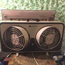 Vintage Bradford Adjustable Double Window Fan Model 1369
