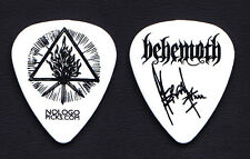 "Behemoth Adam ""Nergal"" Darski Signature White Guitar Pick - 2015 Tour"