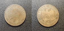 Napoléon III - 2 centimes tête nue, 1856 B, Rouen - F.107/39