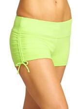 Athleta L Nwot Cactus Scrunch Swimsuit Short Mid Rise 12 14 L