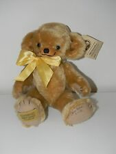 Merrythought Mohair Bear Signed by Oliver Holmes Dated 8.10.93