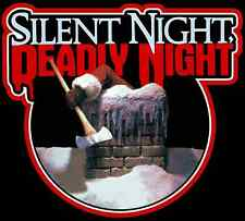 80's Cult Horror Classic Silent Night Deadly Night Poster Art custom tee AnySize