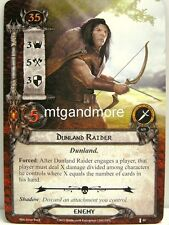 Lord of the Rings LCG  - 1x Dunland Raider  #044 - The Voice of Isengard