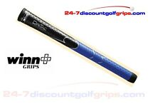 2015 Winn Dri-Tac golf grips - Black and Blue - Midsize
