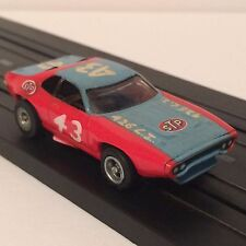 Aurora AFX Richard Petty #43 STP Plymouth Roadrunner ~ HO Slot Car
