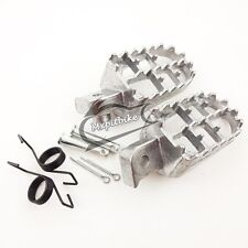 Aluminium Footrest Foot Pegs For XR50R CRF 50 70 80 CRF100F Honda Pit Dirt Bike