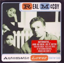 REAL McCOY Automatic Lover 4x  CD Single ss NEW 1995 Arista Cardboard pic sleeve