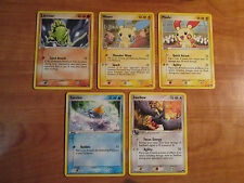 PL COMPLETE Pokemon POP SERIES 1 Common Card PROMO Set 5/17 Minum Plusle Swellow