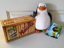 DreamWorks Madagascar Talking Skipper Penguin Plush vintage - NWT & original box