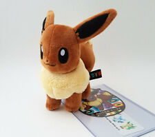 "Japanese Pokemon Center 6"" Eevee plush doll 2012 standing"