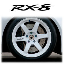 MAZDA RX-8 ALLOY WHEEL WHEELS STICKERS DECALS GRAPHICS X6