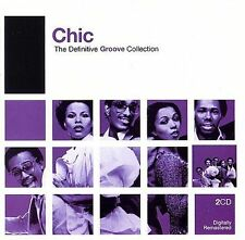 The Definitive Groove Collection by Chic (CD, 2006, 2 Discs, Rhino) SEALED NEW
