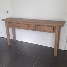 AS NEW - Contempory recyled timber Saint Tropez Console Table from DARE GALLERY