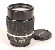 Nikon 105mm F2.5 AIS Nikkor Lens - Very Nice