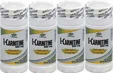 4 bottles L-Carnitine 500mg 480 caps fat metabolism and heart health muscular