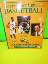 NCAA-GEORGE MASON UNIVERSITY BASKETBALL 1999-CAA CHASMPIONS QUICK FACTS GUIDE