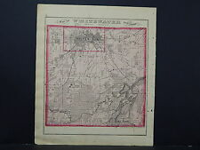 Wisconsin, Walworth County Map, 1873, Whitewater Township, Bass Lake M4#50