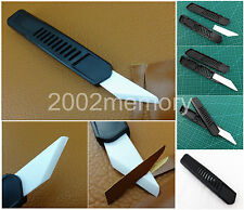 Nano Ceramic Leather Craft Skiving Cutter Tool Set Kit For Handwork