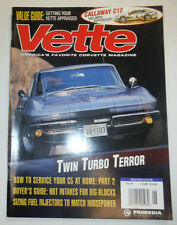 Vette Magazine How To Service Your C5 At Home June 1998 031215R