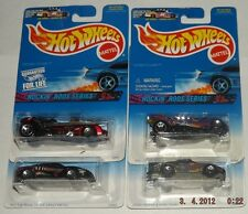 1997 Hot Wheels Rockin' Rods Series, Complete 4 Car Set, Ferrari, Porsche, T4