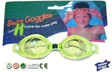 Kids Swimming Goggles & Ear Plugs / Yellow