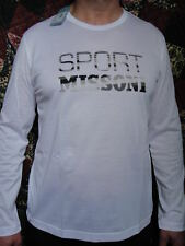 NWT $250 MISSONI shirt long sleeve made in Italy size 48 it, Small -usa