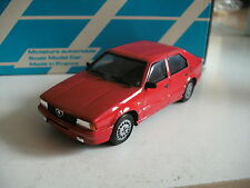 Alezan Handbuilt model Alfa Romeo 33 1.3 S 1989 in Red on 1:43 in box