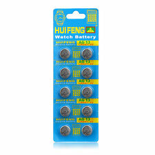 Whoesale 10pcs AG13 SR44 LR44 A76 A01 675A PX76A A35G Button Cell Coin Battery