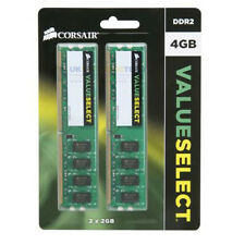 Corsair Value Select 4GB (2 x 2GB) Memory Kit PC2-5300 667MHz DDR2 RAM