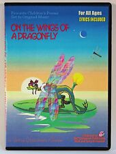 """ON THE WINGS OF A DRAGONFLY"" Terry Grosvenor FOR ALL AGES includes Lyrics, CD"