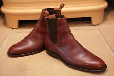 Church's Custom Grade Men's Made In England Brown Tan Lether Boots Shoes UK 7.5