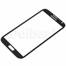 Front Glass Touch Screen Digitizer Glass For Samsung Galaxy Note 2 N7100 Black