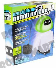 R/C ROBOT Remote Control Inflatable Light up Toy