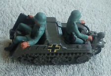 BRITTAINS KETTENKRAD 9780 German Army Motorcycle Half-Track Die-Cast Model WW2