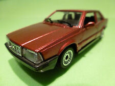 POLISTIL 5308 VOLVO 780 COUPE - RED METALLIC 1:43 - RARE SELTEN - EXCELLENT