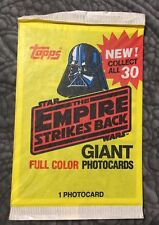 STAR WARS 1980 TOPPS The Empire Strikes Back Photocard Sealed Pack Photo Card