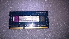 Memoria SODIMM DDR3 Kingston ACR128X64D3S1333C9 1GB PC3-10600 1333MHz CL9 204 Pi