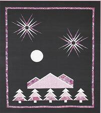 Mountain's Light paper piecing quilt pattern by Eric Gunson Pieceful Expressions