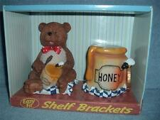 SLOTZ Character Shelf Brackets System Teddy Bear Honey Pot Bees Easy Fit Shelves