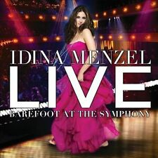 Live: Barefoot at the Symphony by Idina Menzel (CD, Mar-2012, Concord Jazz)