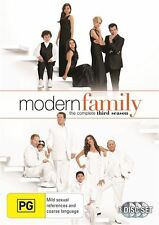 Modern Family : Season 3 (3-Disc Set) New & Sealed, Region; 4