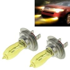 2 X H7 HOD Xenon Bulbs 12V 100W 3500K Yellow Light Headlights