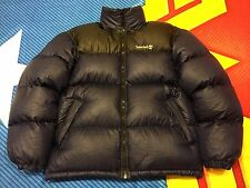 Timberland Performance Puffa Goose Down Jacket, Black & Blue Grape Sz M (Fits L)